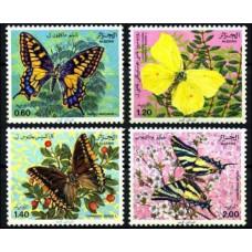 1981 Algeria Mi.779-782 Butterflies 6,00 €