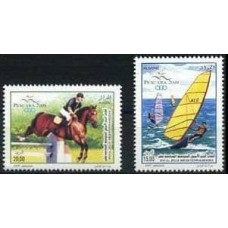 2009 Algeria Mi.1596-1597 Sport 2,80 €