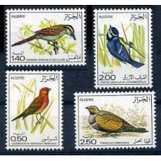 1976 Algeria Mi.673-676 Algerian birds 12,00 €