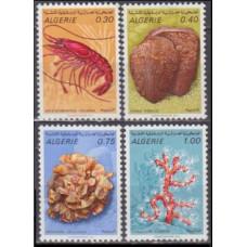 1970 Algeria Mi.544-547 Sea fauna 6,00 €