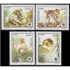 1988 Algeria Mi.972-975 Fauna 8,00 €