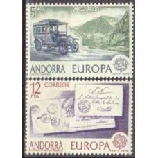 1979 Andorra spa, Mi.123-24 Europa / Automobiles 1,00 €
