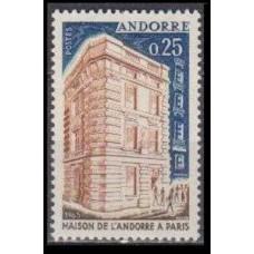 1965 Andorra fr Mi.194 Architecture 1,50 €