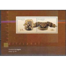 2001 Angola Michel 1654-55/B98 5.00 €