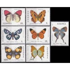 1982 Angola Mi.663-669 Butterflies 14,00 €