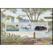 1970 Angola Mi.577-579/B3 Transport 15,00 €