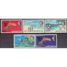 1968 Antigua Michel 192-196 2.00 €