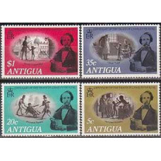 1970 Antigua Michel 226-229 Pickwick Papers 2.20 €