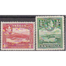 1938 Antigua Michel 78-79** George VI 4.20 €