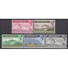 1968 Antigua Mi.197-201 Ships with sails 3,50 €