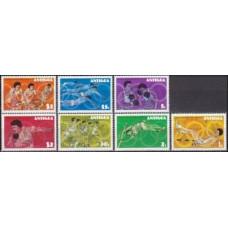 1976 Antigua Mi.425-431 1976 Olympic Montreal 3,00 €