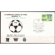 1978 Argentina cover 1978 World championship on football of Argentina €