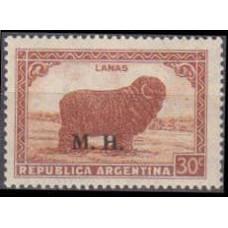 1936 Argentina Mi.D423x Overprint # III