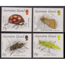 1988 Ascension Mi.453-456 Insects 10.00 €