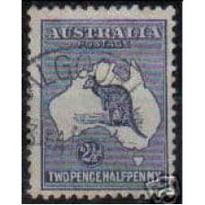 1915 Australia Michel 22 IIx Wz3 used 25.00 €