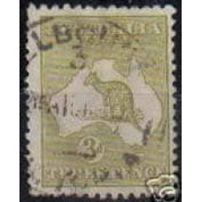 1915 Australia Michel 43 Ix Wz4 PL I used 5.00 €