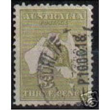1915 Australia Michel 43 IIx Wz4 PL II used 38.00 €
