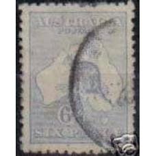 1915 Australia Michel 44 IIx Wz4 PL II used 7.50 €