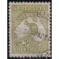 1913 Australia Mi.8 Ix Wz2 PL I 12.50 €