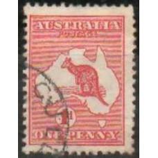 1913 Australia Michel 5 Ix Wz2 PL I used 0.80 €