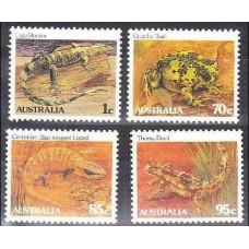 1983 Australia Mi.826-829 Fauna 4,00 €
