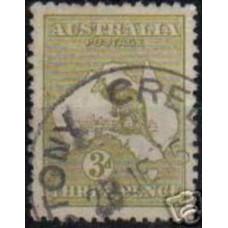 1913 Australia Michel 8 IIx Wz2 PL II used 70.00 €