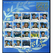 2004 Australia Mi.2335-2351KL 2004 Olympic Athens 45,00 €