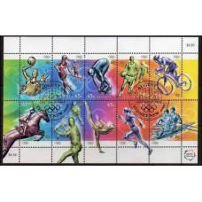 2000 Australia Mi.1951-1960KLpostmark 2000 Olympics in Sydney 7,50 €