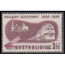 1954 Australia Mi.248 Locomotives 0,20
