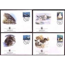 2001 Australian Antarctic Territory Mi.145-148FDC WWF / Sea fauna 5,00 €