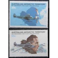 1979 Australian Antarctic Territory Mi.35-36 Planes1,40 €
