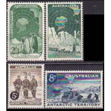 1959 Australian Antarctic Territory Mi.2--5 Definitives 20,00 €