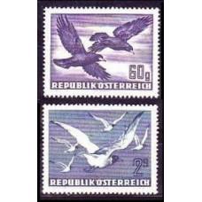 1950 Austria(R.Qsterreich) Mi.955-956 Air 15,00 €