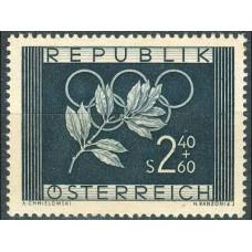 1952 Austria(R.Qsterreich) Mi.969 1952 Olympiad Oslo and Helsing 25,00 €