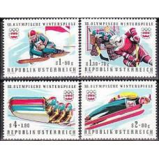 1975 Austria Mi.1479-82 1976 Olympiad Innsbruck 2.00 €