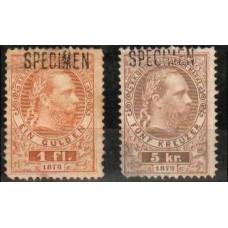 1873 Austria * / (*) Specimen €