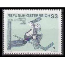 1967 Austria(R.Qsterreich) Mi.1235 Hockey 0,70 €