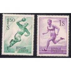 1959 Austria(R.Qsterreich) Mi.1069-70 Sport 1,00 €
