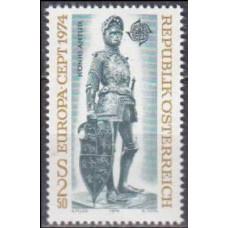 1974 Austria(R.Qsterreich) Mi.1450 Europa 1,60