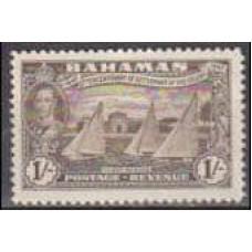 1948 Bahamas Michel 147* George VI 1.00 €