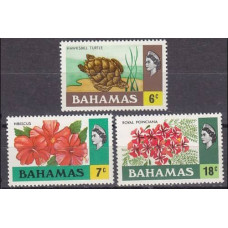 1971 Bahamas Mi.333-335 Fauna and Flora 4,50 €
