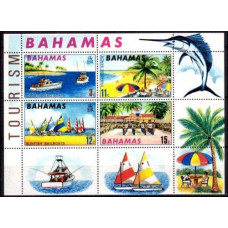 1969 Bahamas Mi.295-298/B1 Ships with sails 5,00 €