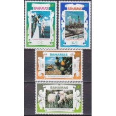 1975 Bahamas Mi.382-385 Fauna and Flora 2,40 €