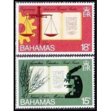 1974 Bahamas Mi.364-365 MEDICINE 1,50 €