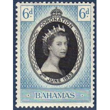 1953 Bahamas Mi.162 ** Elizabet II