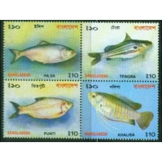 2001 Bangladesh Mi.775-778VB Sea fauna 6,00 €