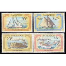 1982 Barbados Mi.558-561 Ships with sails 5,00 €