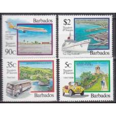 1992 Barbados Mi.807-810 Transport 11,00 €