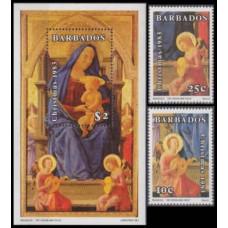 1983 Barbados Mi.597-598+599/B16 Masaccio 10,70 €