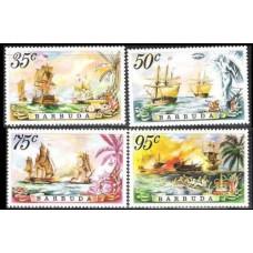 1975 Barbuda Mi.223-226 Ships with sails 6,00 €